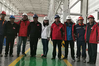 An investor and analyst delegation visited Jiama Mine